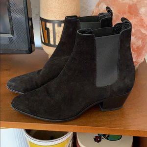 Saint Laurent bootie black sz 35